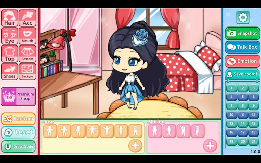My Pretty Girl Story : Dress Up Game screenshots 9