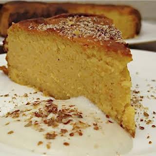 Bitter Flourless Orange Cake.