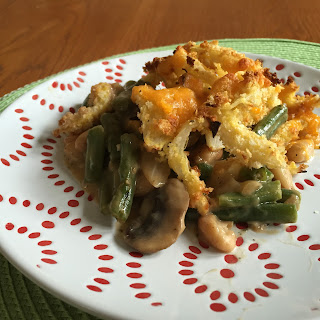 Green Bean & Great Northern Bean Casserole