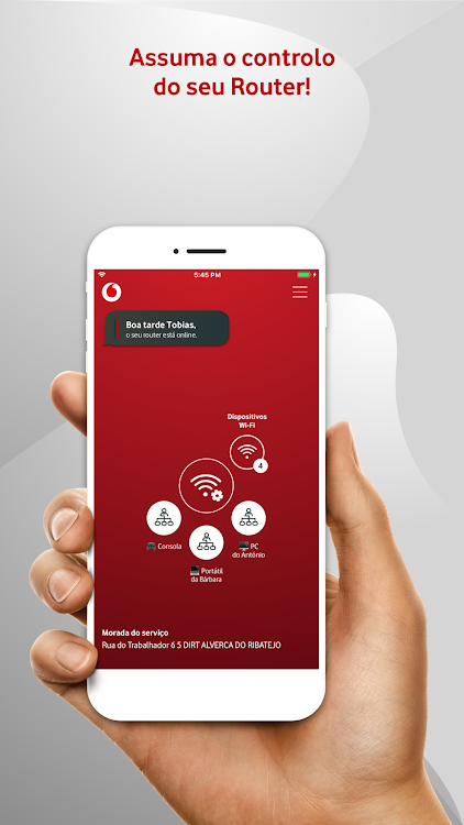 Vodafone Smart Router – (Android Aplikace) — AppAgg