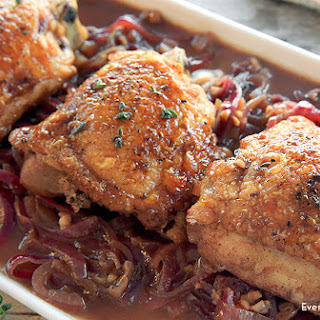 One Pan Honey Balsamic Chicken