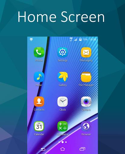 CM 12.1 TouchWiz S6 Theme