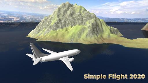 Flight Simulator Simple Flight 2020 Airplane android2mod screenshots 1