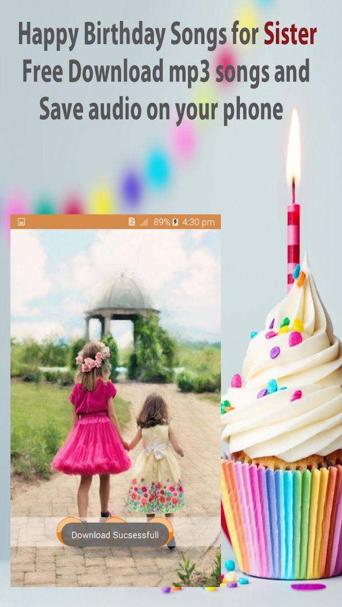 Happy Birthday song for Sister v4 1 1 For Android APK