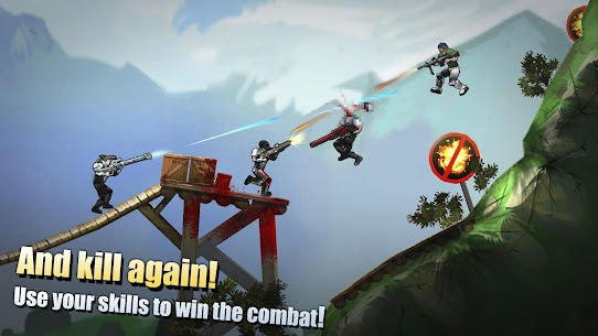 Flat Army: Sniper War 1.12.22 MOD (Unlimited Gold) APK + OBB 4
