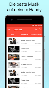 Musik Video Player Screenshot