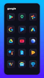 Nova Dark Icon Pack – Rounded Square Shaped Icons v4.6 [Patched] 4