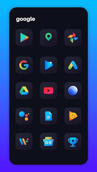 Nova Dark Icon Pack Screenshot Image