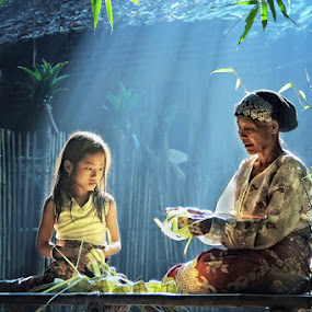 In the morning by Irvan Darmawan - People Portraits of Women