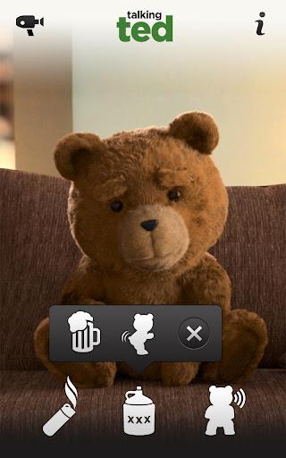 Talking Ted LITE screenshot 2