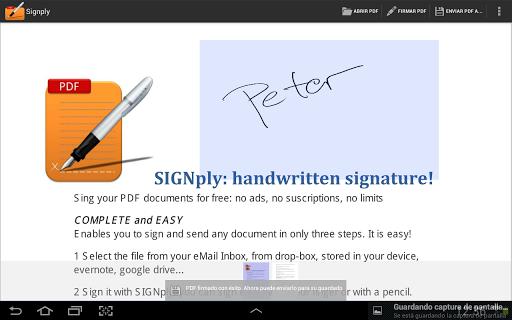 Handwritten PDF e-signatures screenshot 5