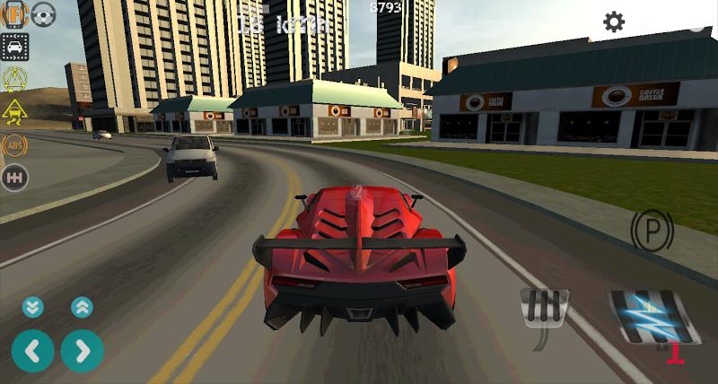 Скриншот Airport Taxi Parking Drift 3D