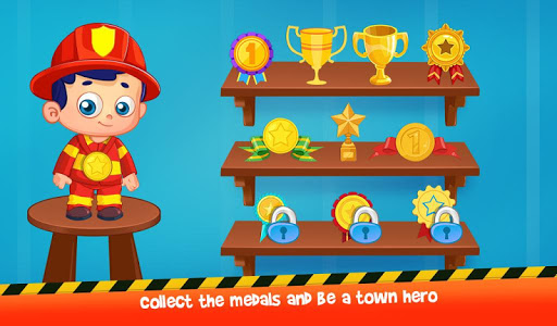 Firefighters Town Fire Rescue Adventures 1.0.4 screenshots 5