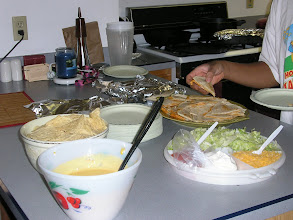 Photo: it's a taco party!