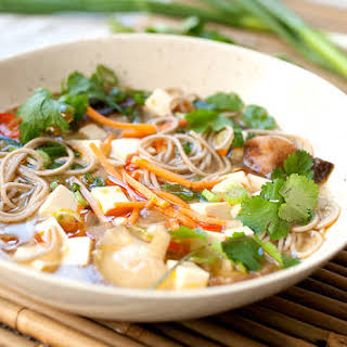 Chinese Vegetarian Noodle Soup Recipes.