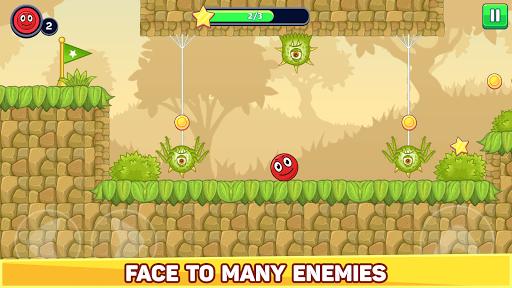 Bounce Ball 5 - Red Jump Ball Hero Adventure apklade screenshots 2