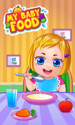 我的嬰兒食品 ——個烹飪遊戲 My Baby Food