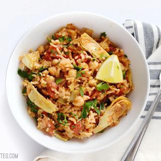 Spanish Chickpeas and Rice