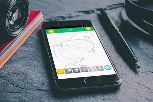 玩免費遊戲APP|下載How to Draw Hair app不用錢|硬是要APP