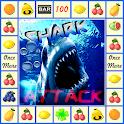 slot machine shark attack icon