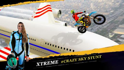 Crazy Biker Extreme Challenge Sky Stunt 3D painmod.com screenshots 14