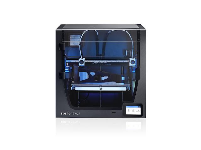 BCN3D Epsilon W27 Fully Enclosed Independent Dual Extrusion 3D Printer