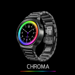Chroma Watch face screenshot 1