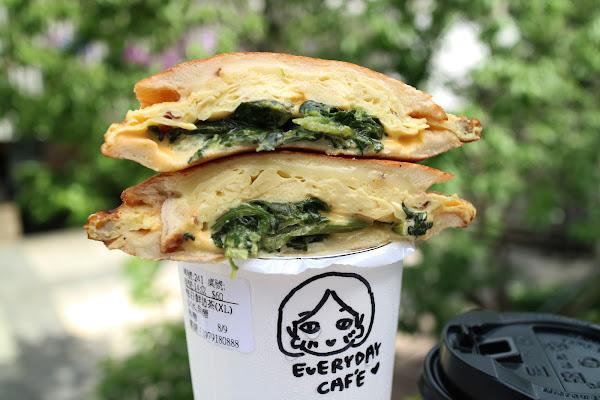 EVERYDAY CAFE,中和早午餐,近永安市場站,手作吐司,咖啡.茶,排隊美食,近期推出晚間限定吃飽飽吐司