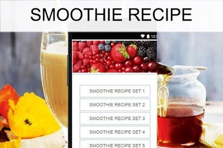 Smoothie recipes screenshot 0