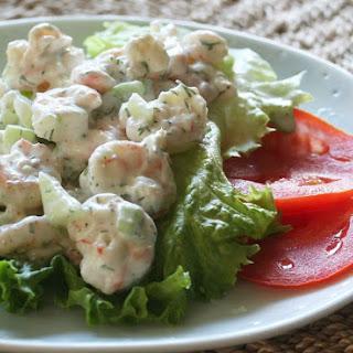 Shrimp Salad With Dill.
