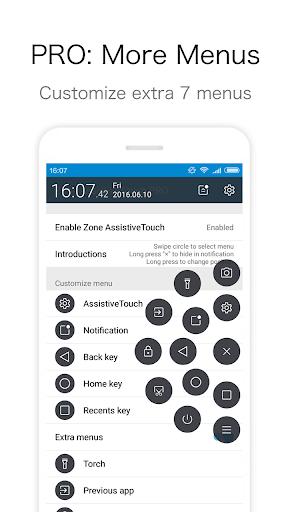 Zone AssistiveTouch PRO screenshot
