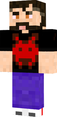 Something simple wouldn't hurt, so made a cool guy with an Invader shirt!