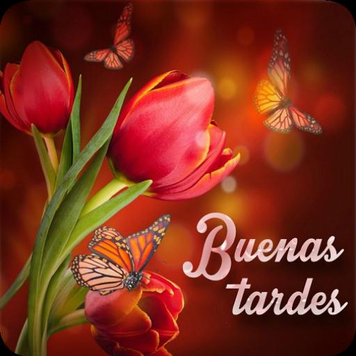Buenas Tardes con Flores - Aplicaciones en Google Play