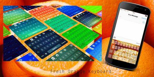 Fresh Orange Keyboard