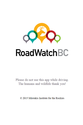 Road Watch BC- screenshot