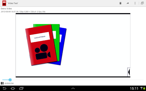 LectureVideos 1.2.15 APK with Mod + Data 1