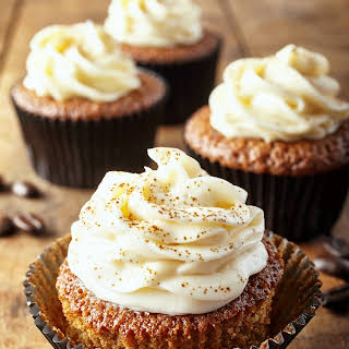 Cappuccino Fudge Cupcakes.