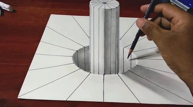 3D Drawing Ideas Poster