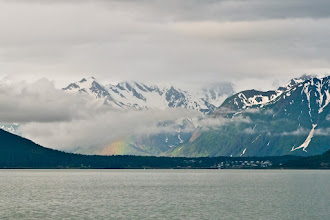 Photo: Rainbow over Skagway