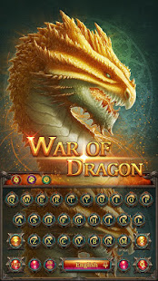 War of dragon godzilla Keyboard APK for Bluestacks