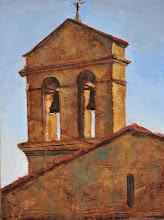 Photo: Cortona Church 14x18 1400