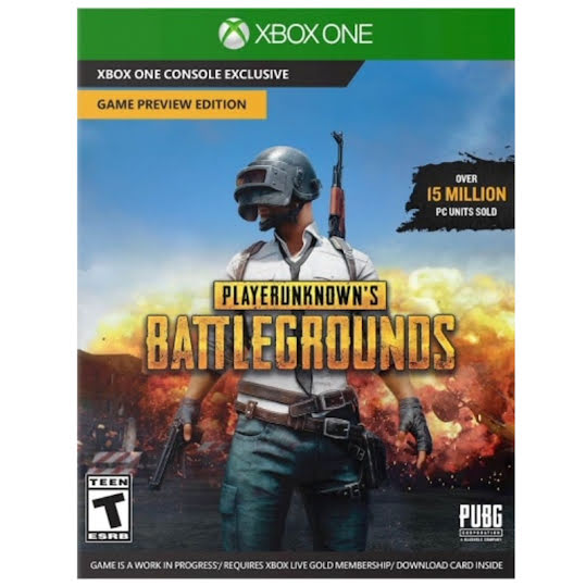 Player Unknown's: Battlegrounds (Game Code)  (Xbox One)
