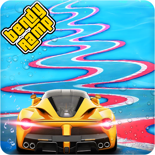 Underwater Bendy Ramp Car Stunts Racing Master