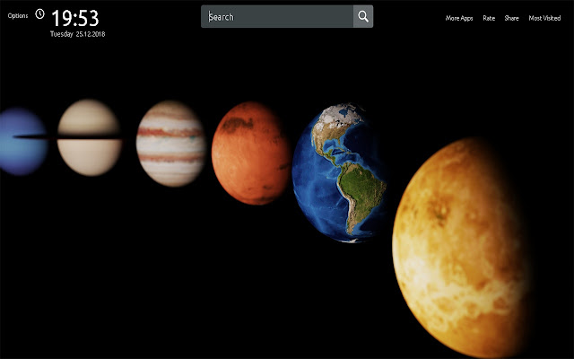 Planet Earth Wallpapers Theme New Tab