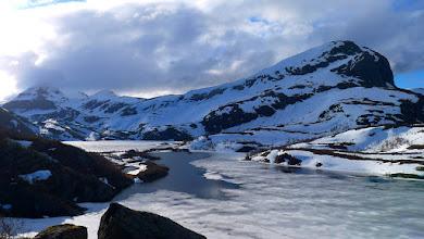Photo: Vårløysing ved Leknesvatna