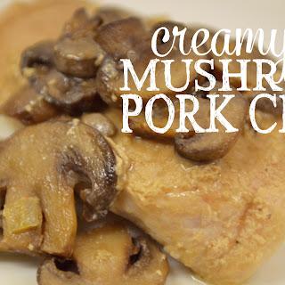 Creamy Mushroom Pork Chops Recipe