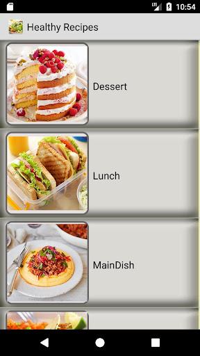 Healthy Recipes - Easy, Salad recipe, Diet recipes 1.4.1 screenshots 2