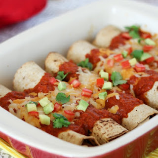 Healthy Chicken Chipotle Enchiladas Recipe