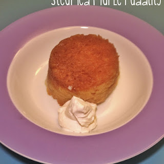 Steamed Maple Syrup Puddings