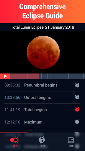 Screenshot for Eclipse Guide - Discover Solar and Lunar Eclipses in Hong Kong Play Store